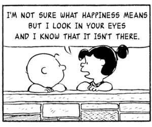 happiness, charlie brown, and quotes image