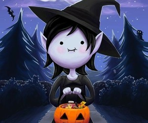 marceline, Halloween, and adventure time image