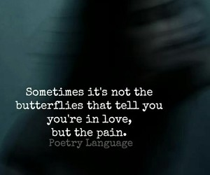 quotes and lovely pain image