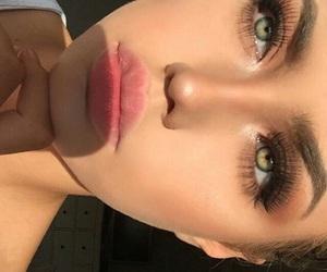 aesthetic, eyebrows, and fleeky image