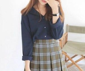 asian, girl, and korean fashion image