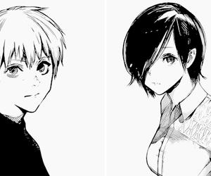b&w, manga, and manga girl image