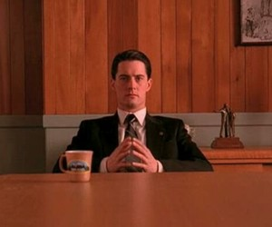 Twin Peaks and dale cooper image