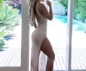 beautiful, dress, and women image