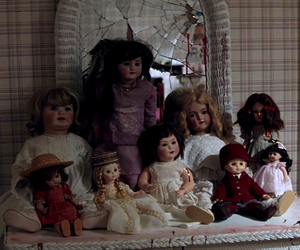 aesthetic, barbie dolls, and creepy image