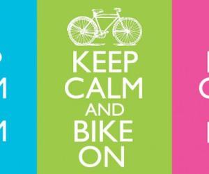 and, bike, and girl image