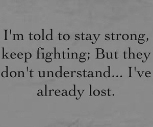 sad, lost, and quotes image