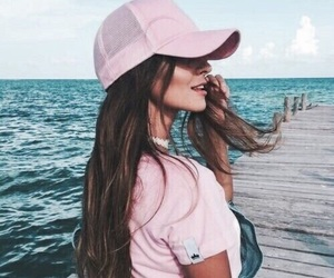 girl, pink, and tumblr image