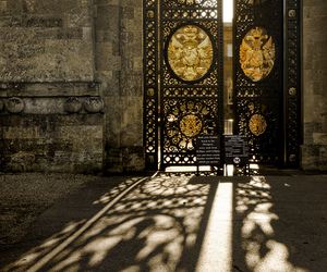 door, photography, and light image