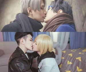 deviantart, anime boy, and yuri on ice image