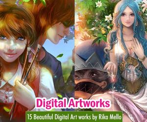 digital art, art, and china artists image