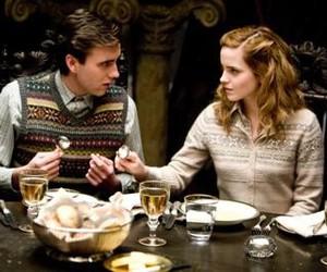 hermione granger, neville longbottom, and hogwarts image