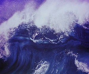 waves, fall out boy, and ocean image