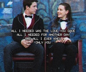 13 reasons why, clay, and Lyrics image