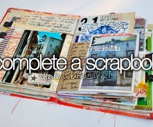 scrapbook, bucket list, and before i die image