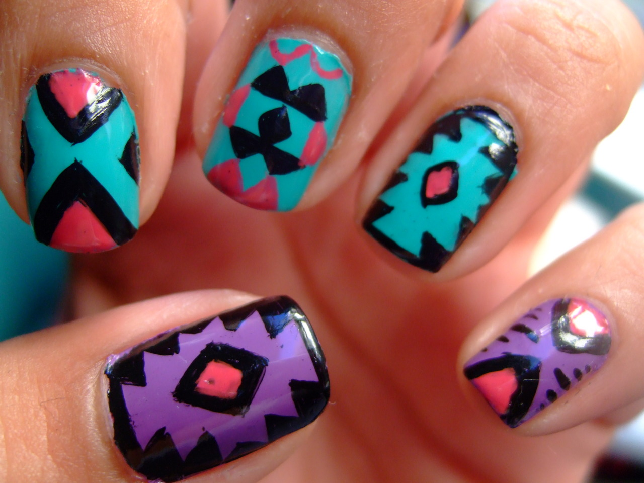 24 images about Naildesigns on We Heart It | See more about nails, nail art  and pink - 24 Images About Naildesigns On We Heart It See More About Nails
