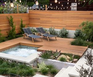 backyard, home, and ideas image