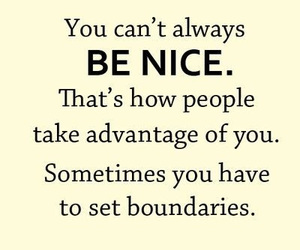 be nice, quotes, and set image