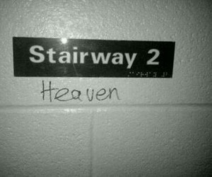 led zeppelin, stairway to heaven, and heaven image