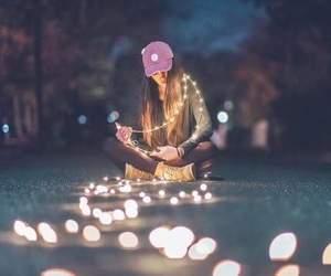 beautiful, lights, and love image