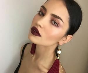 eyeshadow, face, and fashion image
