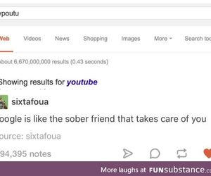 friend, google, and sober image