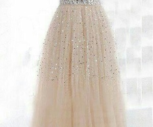 dress, girl's fashion, and gowns image