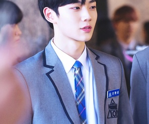 produce 101, ahn hyungseob, and dancer image