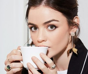 lucy hale, fashion, and make up image