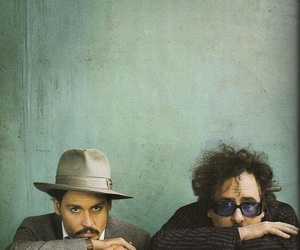 tim burton and johnny depp image