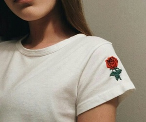fashion, rose, and alternative image