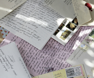 letters, vintage, and tumblr image