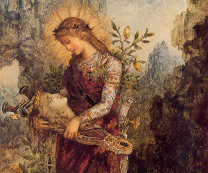 art, painting, and gustave moreau image