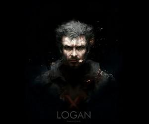 hugh jackman, logan, and Marvel image