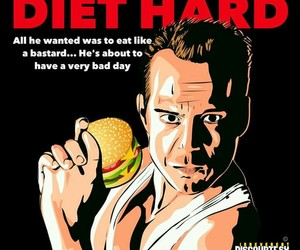 diet, eat, and funny image