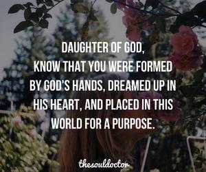 faith, purpose, and god image