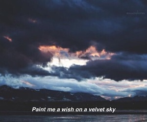 sky, quotes, and grunge image