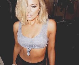 beauty, fitness, and kardashian image