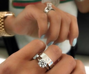 cartier, diamonds, and gucci image