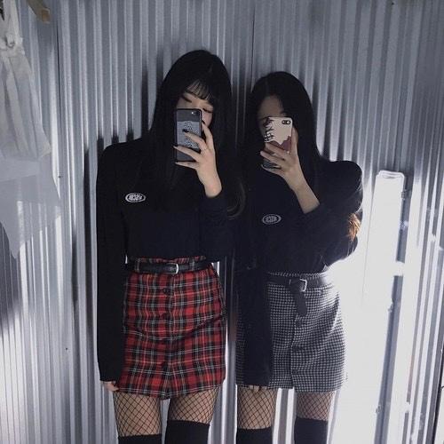 girl, korean, and kfashion image