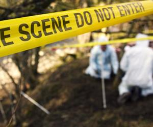 crime scene, fbi, and police image