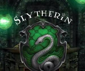 slytherin, harry potter, and wallpaper image