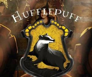 hufflepuff, harry potter, and wallpaper image
