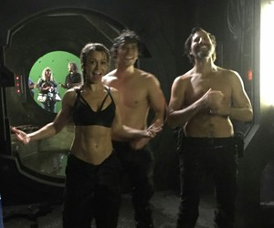 henry ian cusick, the 100, and bellamy blake image