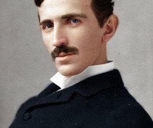 nikola tesla and Tesla image