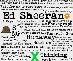 music, ed sheeran, and ed image