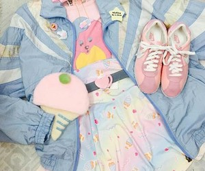 kawaii, kawaii clothes, and pastelcolors image