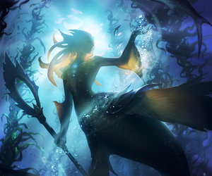league of legends, lol, and mermaid image