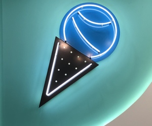 black, neon, and blue image