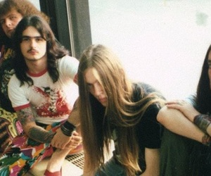 80's, carcass, and long hair boy image